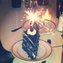 BDay Cake Sparkler 2012