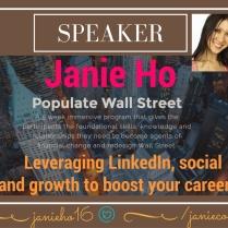 LinkedIn Expert   LinkedIn Speaker   Social Media Expert Speaker NYC   Janie Ho