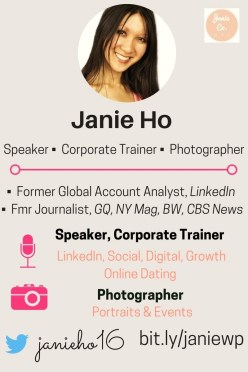 NYC Photographer | NYC Speaker | Social Media LinkedIn Expert NYC
