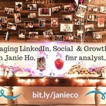 LinkedIn Profile Expert   Social Media Marketing Pro NYC   Janie Ho