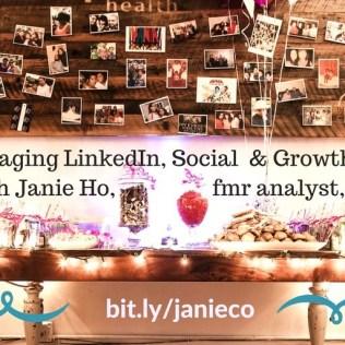 LinkedIn Profile Expert | Social Media Marketing Pro NYC | Janie Ho